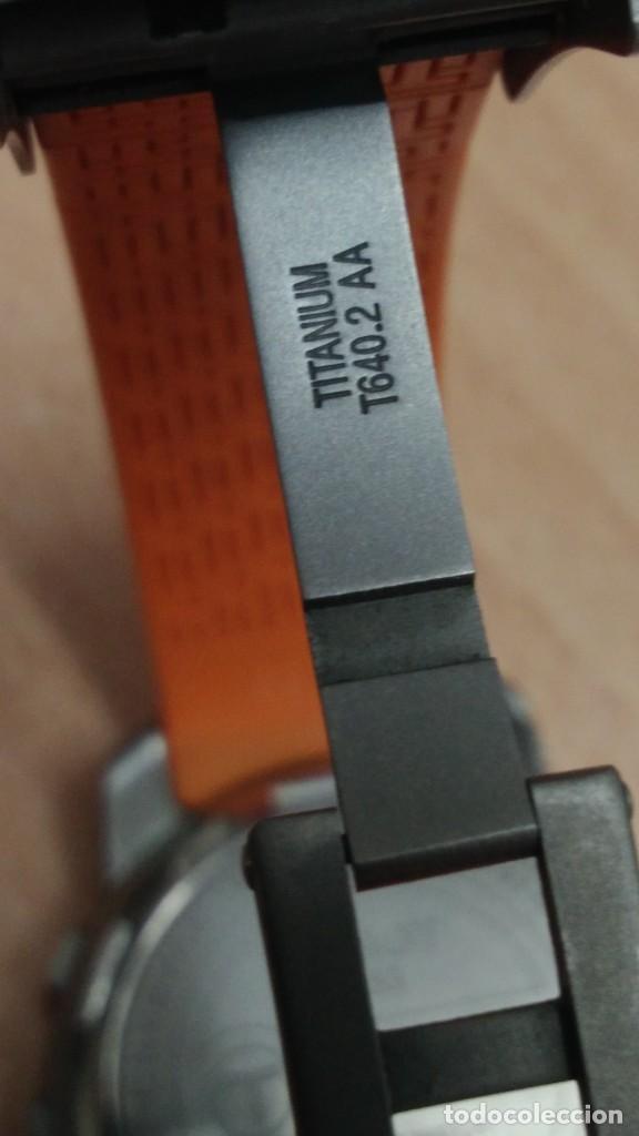 Relojes - Tissot: Reloj tissot t touch titanio y cristal zafiro multifuncion altimetro termómetro brujula cronograf - Foto 6 - 273976703
