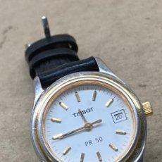 Relojes - Tissot: RELOJ TISSOT PR50 MUJER EN FUNCIONAMIENTO. Lote 274174928