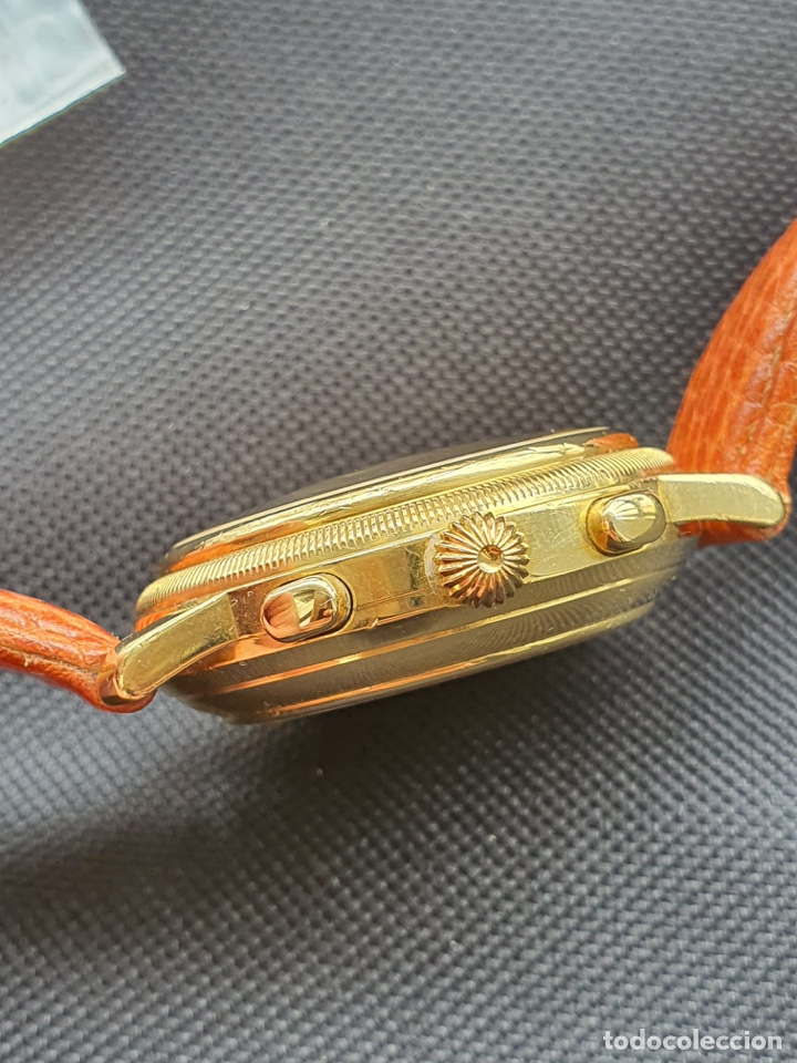 Relojes - Tissot: Reloj Tissot Chronograph oro sólido 18k, funciona perfectamente - Foto 5 - 274406543