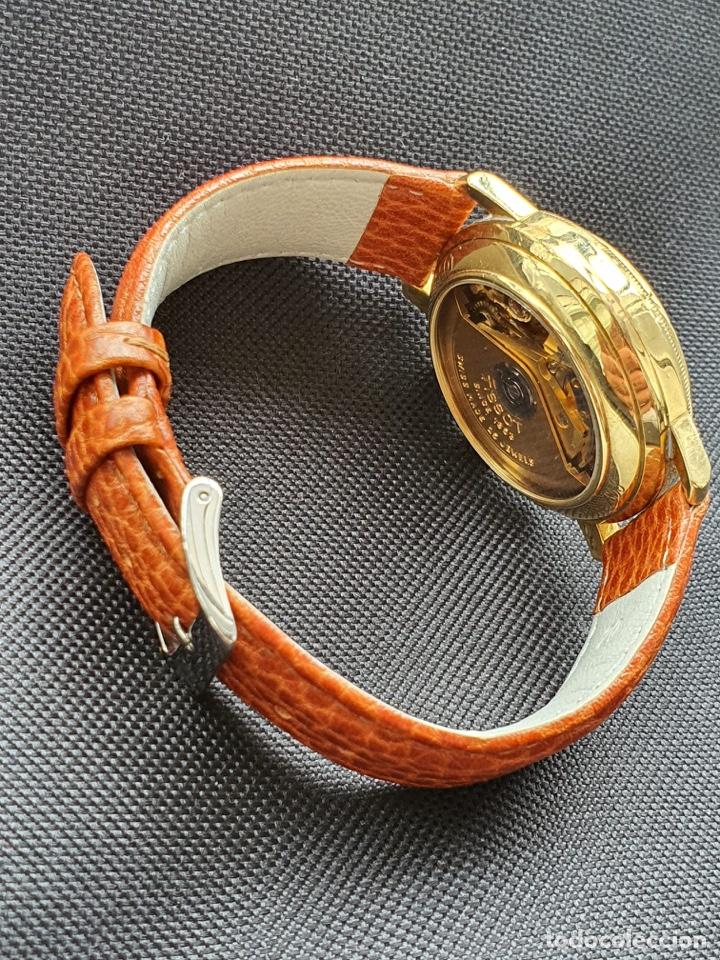 Relojes - Tissot: Reloj Tissot Chronograph oro sólido 18k, funciona perfectamente - Foto 10 - 274406543