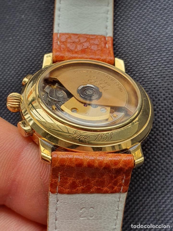 Relojes - Tissot: Reloj Tissot Chronograph oro sólido 18k, funciona perfectamente - Foto 13 - 274406543
