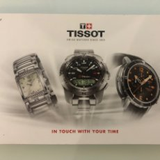 Relojes - Tissot: CATÁLOGO RELOJES TISSOT 2011. Lote 275630123