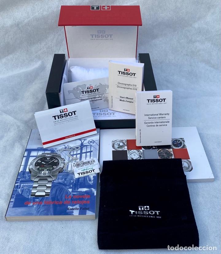 Relojes - Tissot: TISSOT. Estuche reloj de lujo Tissot con documentación - Foto 2 - 276087313