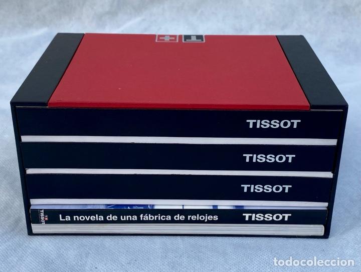 Relojes - Tissot: TISSOT. Estuche reloj de lujo Tissot con documentación - Foto 5 - 276087313