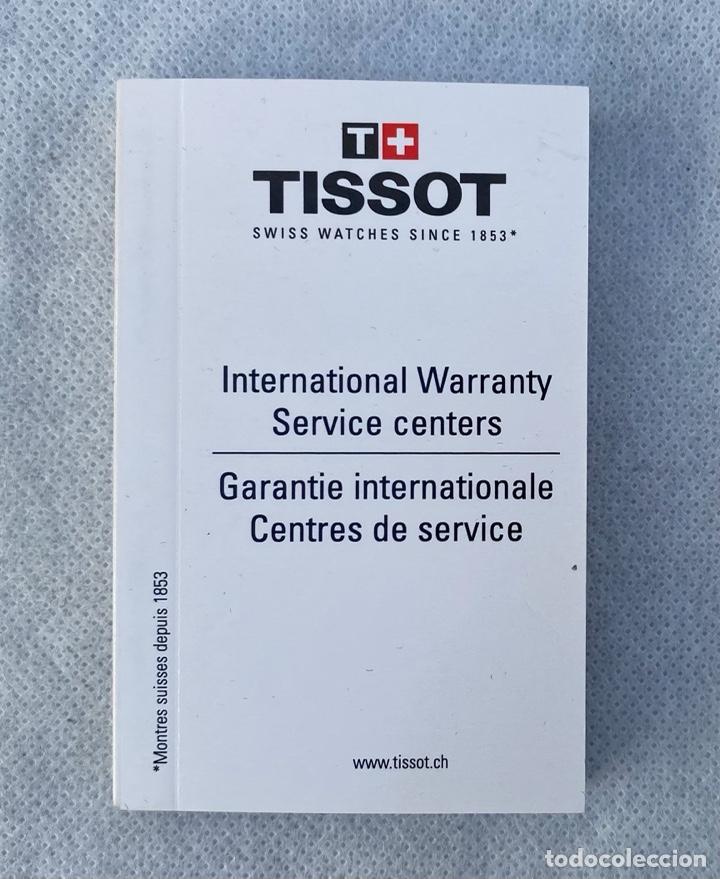 Relojes - Tissot: TISSOT. Estuche reloj de lujo Tissot con documentación - Foto 11 - 276087313
