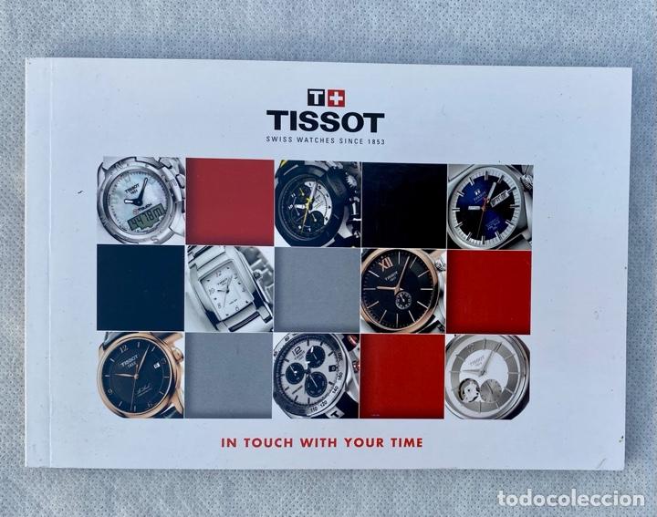 Relojes - Tissot: TISSOT. Estuche reloj de lujo Tissot con documentación - Foto 13 - 276087313