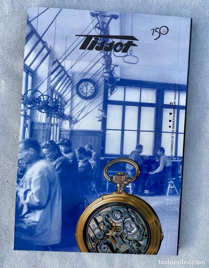 Relojes - Tissot: TISSOT. Estuche reloj de lujo Tissot con documentación - Foto 17 - 276087313