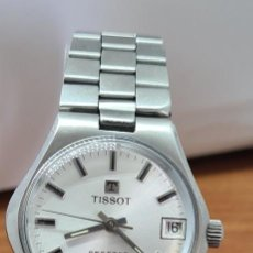 Relojes - Tissot: RELOJ TISSOT. TOOL 108 AUTOMÁTICO SEASTAR ACERO, ESFERA BLANCA, CALENDARIO, CORREA ACERO ORIGINAL. Lote 280516693
