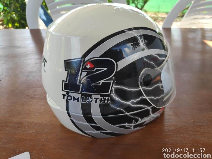 Relojes - Tissot: Pieza única Caja casco tissot t-race 2012 firmado autografo original Thomas Tom luthi moto gp - Foto 3 - 288004468