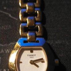 Relojes - Tissot: PRECIOSO RELOJ TISSOT BAÑADO EN ORO. Lote 294373618