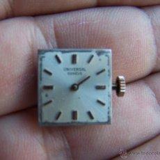 Relojes - Universal: RELOJ UNIVERSAL GENEVE MAQUINARIA COMPLETA Y FUNCIONANDO. Lote 40695830