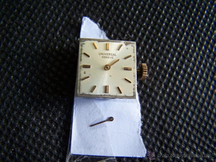 Relojes - Universal: Reloj Universal Geneve maquinaria completa y funcionando - Foto 2 - 40695830