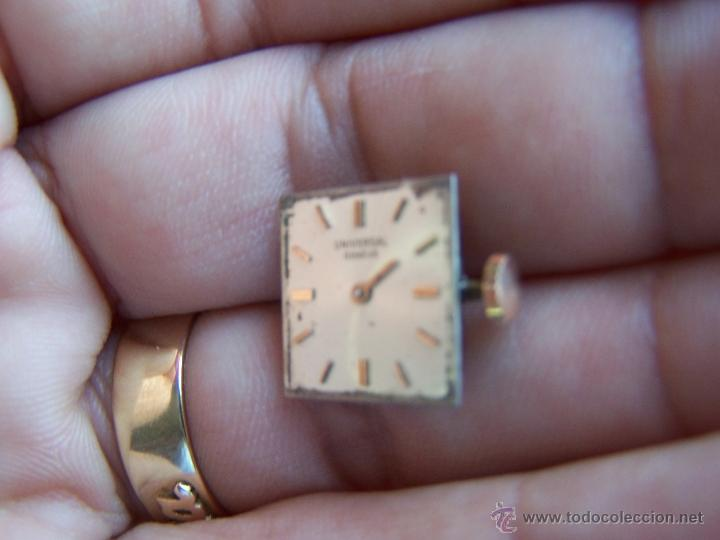 Relojes - Universal: Reloj Universal Geneve maquinaria completa y funcionando - Foto 3 - 40695830
