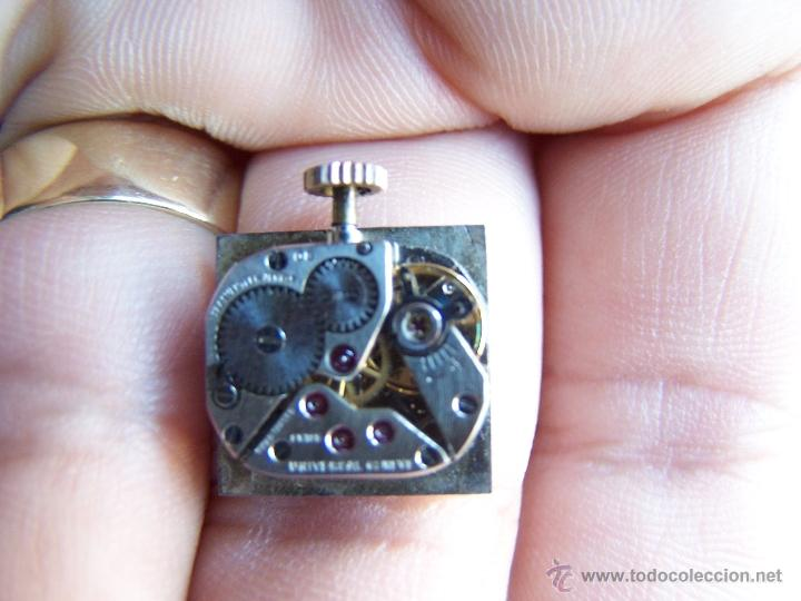 Relojes - Universal: Reloj Universal Geneve maquinaria completa y funcionando - Foto 4 - 40695830