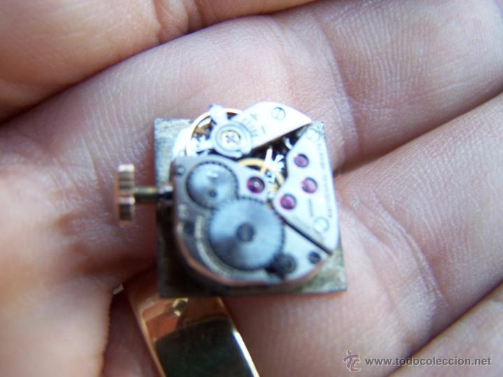 Relojes - Universal: Reloj Universal Geneve maquinaria completa y funcionando - Foto 5 - 40695830