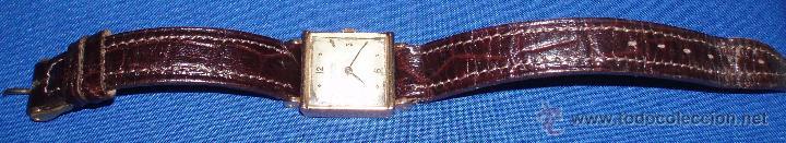 RELOJ DE SEÑORA DE ORO UNIVERSAL GENEVE , MARCAS Y CONTRASTE FABRICANTE (Relojes - Relojes Actuales - Universal)