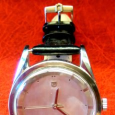 Relojes - Universal: RELOJ PILOTO AVIACION,UNIVERSAL GENEVE POLEROUTER,1950 MODIFICADO EN MAQUINARIA,ESTETICA ORIGINAL.. Lote 82125583