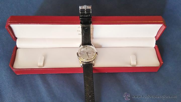 Relojes - Universal: RELOJ PILOTO AVIACION,UNIVERSAL GENEVE POLEROUTER,1950 MODIFICADO EN MAQUINARIA,ESTETICA ORIGINAL. - Foto 4 - 82125583