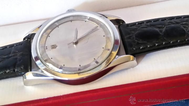 Relojes - Universal: RELOJ PILOTO AVIACION,UNIVERSAL GENEVE POLEROUTER,1950 MODIFICADO EN MAQUINARIA,ESTETICA ORIGINAL. - Foto 6 - 82125583