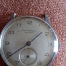 Relojes - Universal: MUY ANTIGUO RELOJ UNIVERSAL GENEVE. Lote 58517214