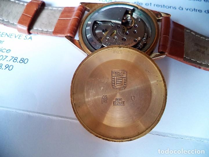 Relojes - Universal: Universal Geneve, automático, Oro macizo de 18 quilates. - Foto 2 - 80662566