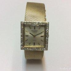 Relojes - Universal: RELOJ DE ORO 18 K. Y BRILLANTES, UNIVERSAL GENEVE. . Lote 119484999