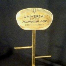 Orologi - Universal: EXPOSITOR PUBLICIDAD RELOJ UNIVERSAL. Lote 130347066