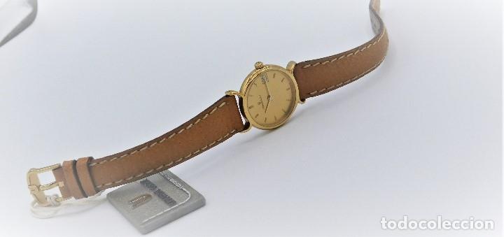Relojes - Universal: UNIVERSAL GENEVE - FANTASTICO RELOJ DE PULSERA DE DAMA A ESTRENAR- PLAQUÉ ORO AMARILLO 10G - Foto 3 - 139262170