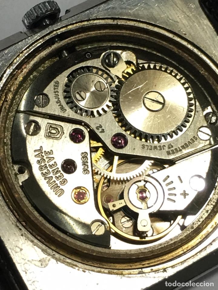 Relojes - Universal: Reloj Universal Geneve carga manual y caja de acero en funcionamiento - Foto 6 - 166866946