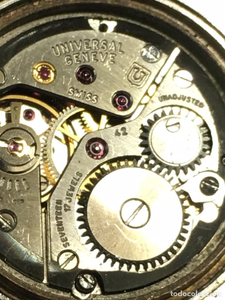 Relojes - Universal: Reloj Universal Geneve carga manual y caja de acero en funcionamiento - Foto 7 - 166866946