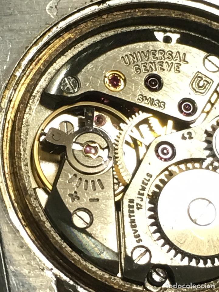 Relojes - Universal: Reloj Universal Geneve carga manual y caja de acero en funcionamiento - Foto 8 - 166866946