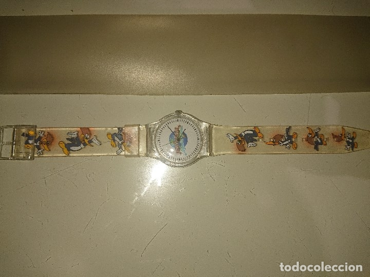 RELOJ UNIVERSAL MEDITERRANEA PAJARO LOCO , LEER DESCRIPCION (Relojes - Relojes Actuales - Universal)