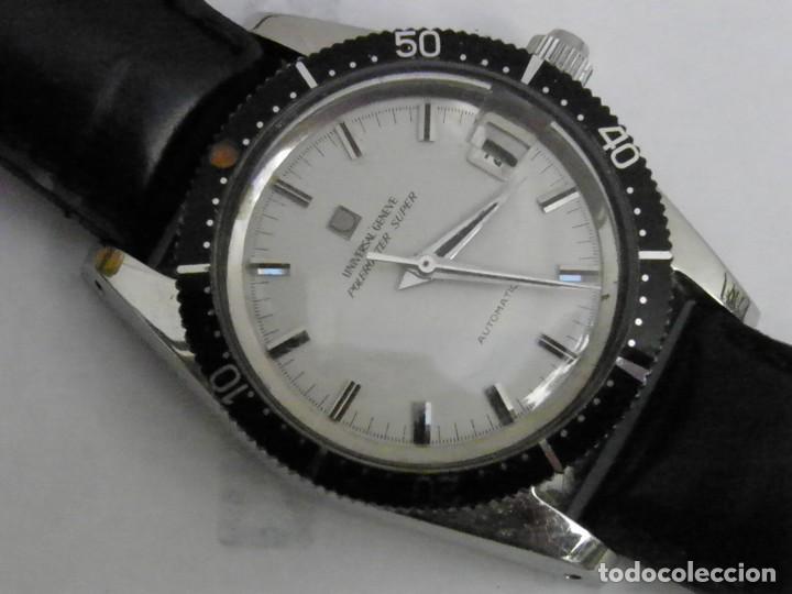EXCLUSIVO UNIVERSAL GENEVE POLEROUTER SUBMARINER (Relojes - Relojes Actuales - Universal)