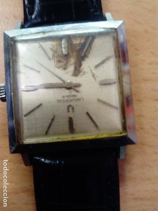 Relojes - Universal: Reloj Universal Geneve Automático Cuadrado - Foto 2 - 190822236