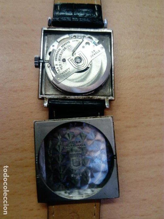 Relojes - Universal: Reloj Universal Geneve Automático Cuadrado - Foto 4 - 190822236