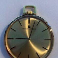 Relojes - Universal: GAMA ALTA. RELOJ BOLSILLO UNIVERSAL GENEVE . Lote 193971557