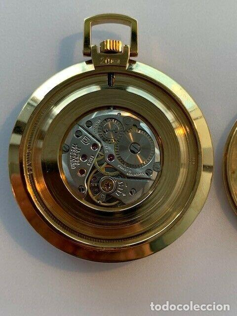 Relojes - Universal: GAMA ALTA. RELOJ BOLSILLO UNIVERSAL GENEVE - Foto 4 - 193971557