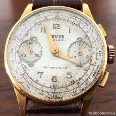 Relojes - Universal: CRONOGRAFO VENUS ORO 18 KTS. Lote 195312043