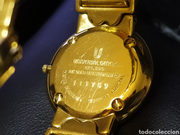 Relojes - Universal: Universal Geneve cuarzo - Foto 7 - 196294871