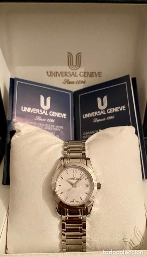 MAGNIFICO RELOJ UNIVERSAL GENEVE NUEVO A ESTRENAR (Relojes - Relojes Actuales - Universal)