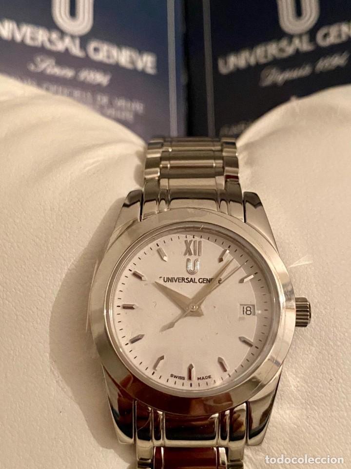 Relojes - Universal: MAGNIFICO RELOJ UNIVERSAL GENEVE NUEVO A ESTRENAR - Foto 2 - 205375643