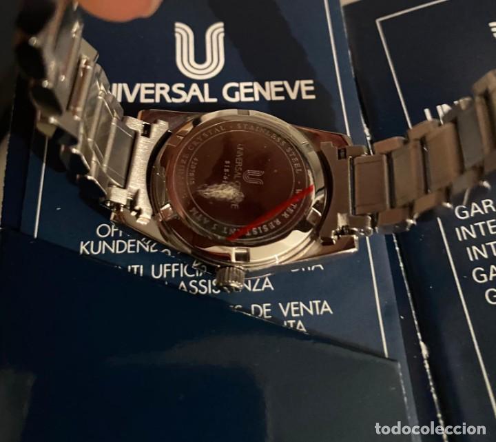Relojes - Universal: MAGNIFICO RELOJ UNIVERSAL GENEVE NUEVO A ESTRENAR - Foto 3 - 205375643