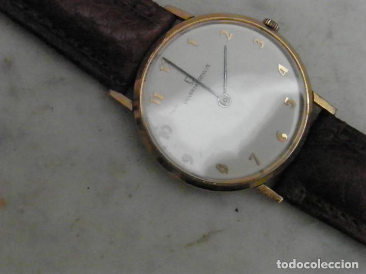RELOJ UNIVERSAL GENEVE ULTRA SLIM ORO 18 KILATES (Relojes - Relojes Actuales - Universal)