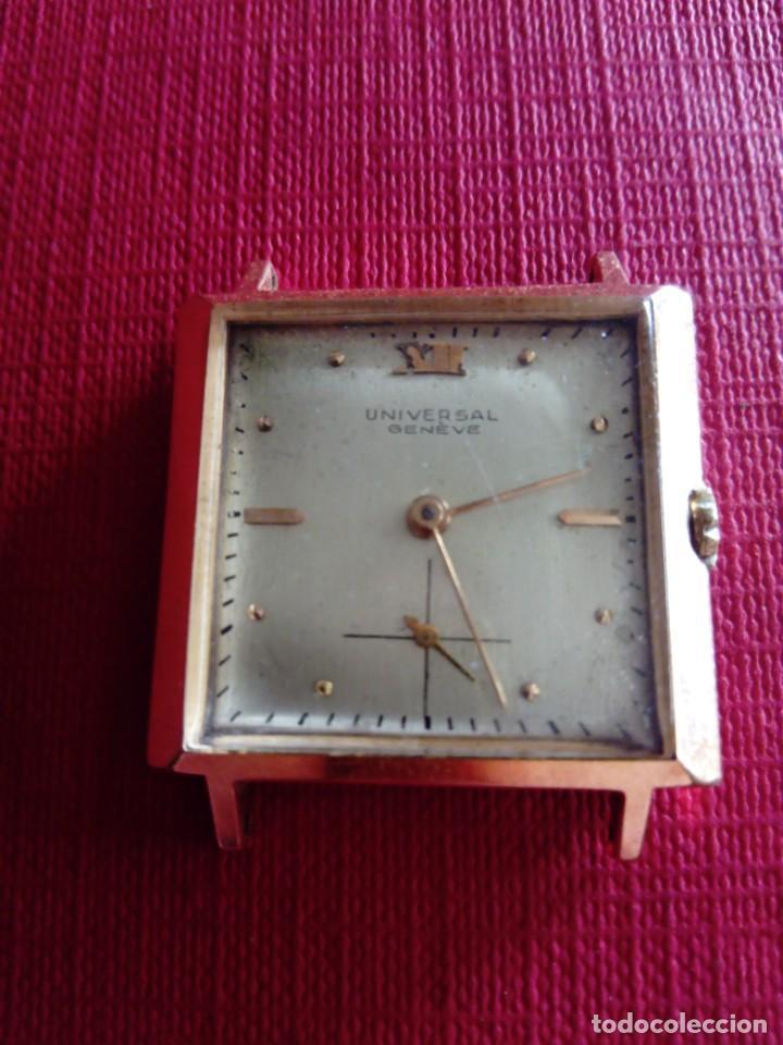 BONITO RELOJ UNIVERSAL GENEVE CAJA CAUNY (Relojes - Relojes Actuales - Universal)