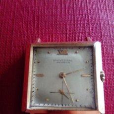 Relojes - Universal: BONITO RELOJ UNIVERSAL GENEVE CAJA CAUNY. Lote 223889920