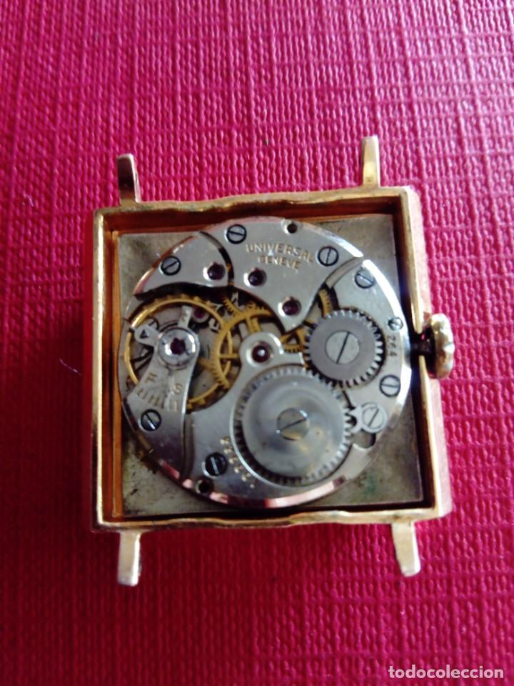 Relojes - Universal: Bonito reloj Universal Geneve caja Cauny - Foto 6 - 223889920
