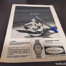 Orologi - Universal: RELOJ UNIVERSAL GENEVE GRAN ANUNCIO PUBLICIDAD REVISTA 1967 ESPECIAL PARA ENMARCAR. Lote 217028546