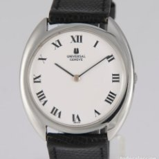 Relojes - Universal: UNIVERSAL GENEVE STEEL 35MM ULTRATHIN 842111 CALIBER 1-42. Lote 217488213