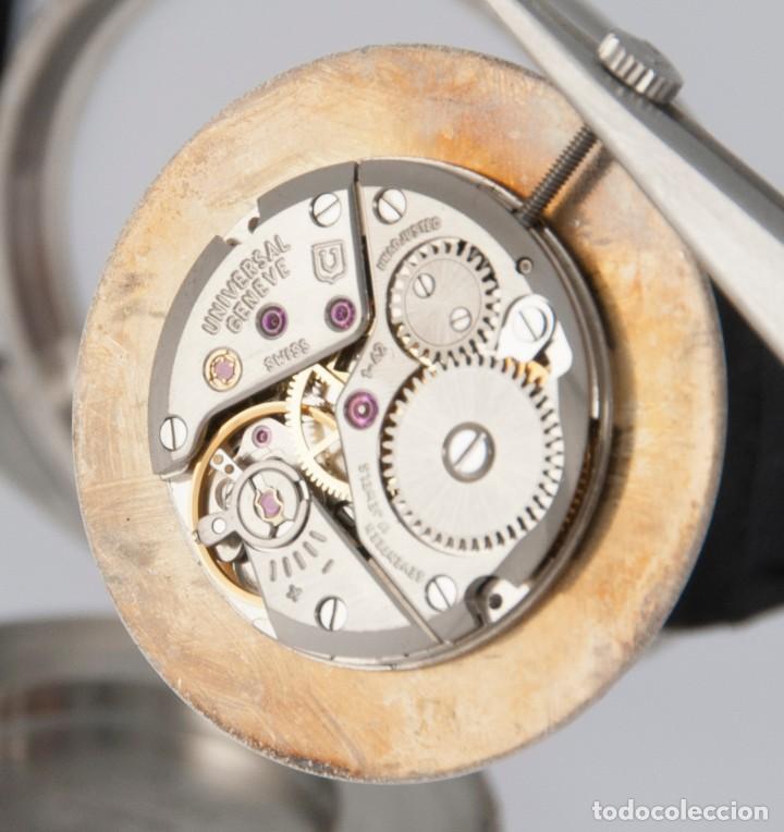 Relojes - Universal: Universal Geneve Steel 35mm Ultrathin 842111 Caliber 1-42 - Foto 4 - 217488213