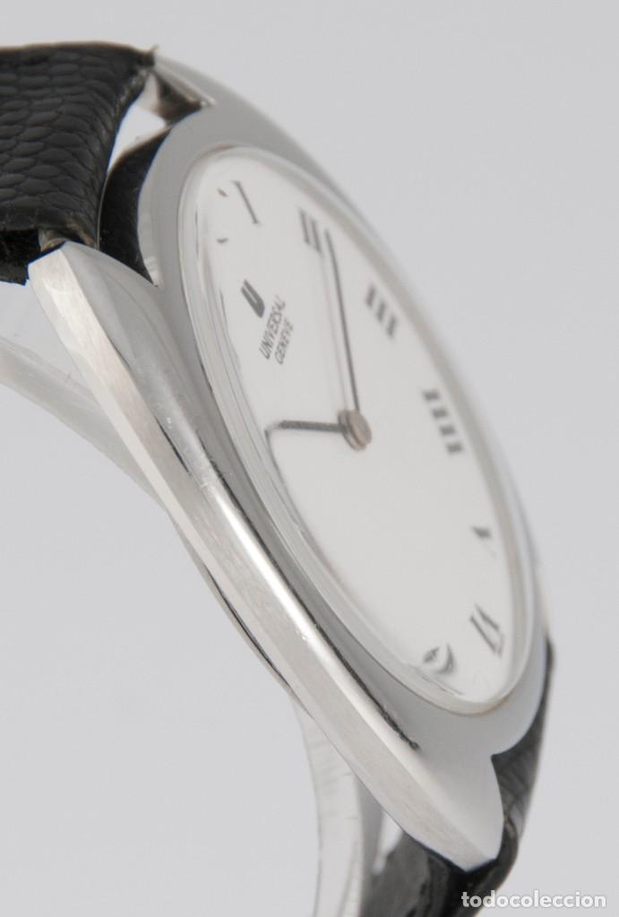 Relojes - Universal: Universal Geneve Steel 35mm Ultrathin 842111 Caliber 1-42 - Foto 9 - 217488213